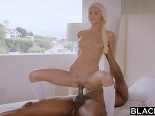 Blacked Teens First Experience with Dominant Black Stud