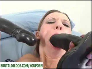 brunette, toys, masturbating