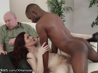 Jessica ryan has incredible bbc cornuto sesso: gratis porno b4