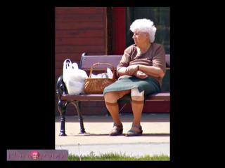 bbw, i vjetër, grannies