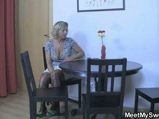 moms teaching teens, threesome teen, threesome mature