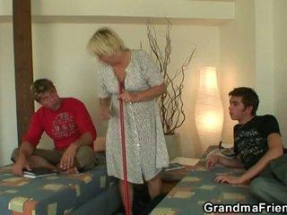 fucking, geng bang, ibu panas