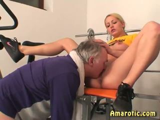 Old Man - Young Girl: Free Teen Porn Video 04