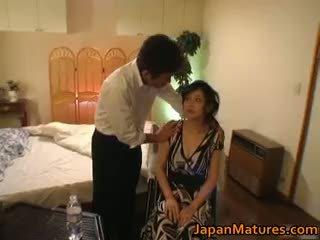 Nadržený japonská zralý babes sání part6