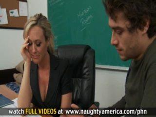 Estudiante y profesora xander corvus, brandi amor