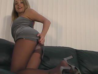 Sydney Moon Jerk Off Instruction Panty...