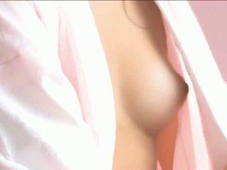 Iori mizukilovely ýapon jana gets sosok licked and poza durmak