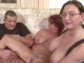 milfs, sesso a tre, hd porno