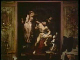 Serie Rose 10- Hercule aux pieds d Omphale