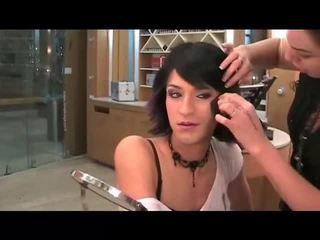 makeup, crossdresser, tvár