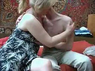 Starý mama s od russia