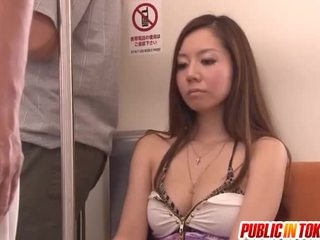 Public Place Beside Nice Teenager Nymphs