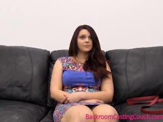 Seksueel psychology 101 - casting zitbank lesson met painal