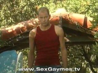 集団セックス, ホットゲイジョック, ホームゲイの少年のポルノ