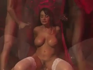 real double penetration scene, real milfs, interracial