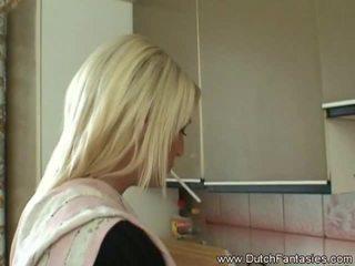 Äärimmäisissä suu helvetin blondi hollantilainen