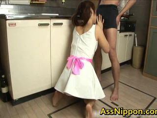 Ann takamiya เอเชีย floozy enjoys getting