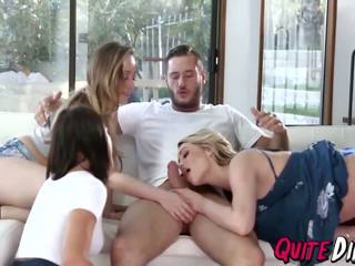 Remy Lacroix Mia Malkova Adriana Chechik Hot Orgy: Porn f3