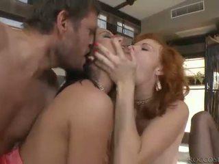סקס הארדקור, מין אוראלי, חדירה כפולה