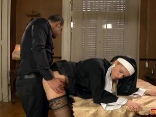 Neslušné mníška