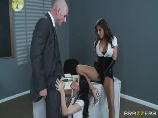 Large tit school whores madison ivy and rebeca linares tested