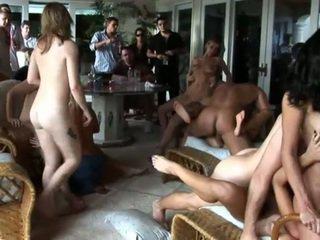 grupu sekss, orģija, sex puse