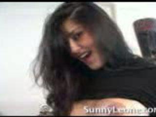 Sunny leone at home