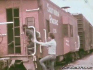 Railway nokļūt laid