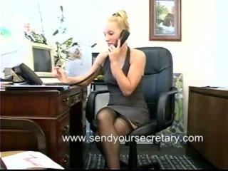 kontor sex, sekretær, kontor faen