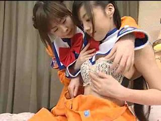 Japan lesbian teens Video