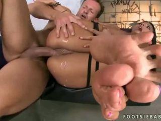fetiche, pés, footjob