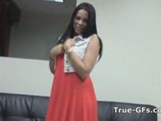 Prawdziwy titty kubańskie humped w hearing