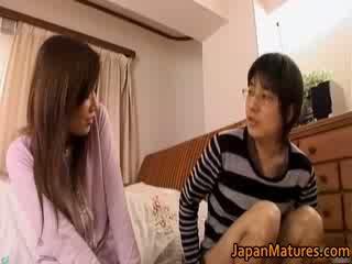 יפני בוגר אישה has נחמדה