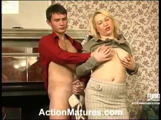 हॉट कार्रवाई परिपक्व वीडियो starring christie, vitas, sara