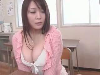 faculdade, japonês, big boobs