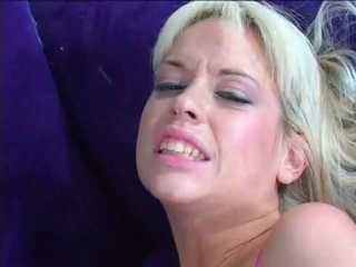 Dong Lover Kissy Kapri Scoops A Loadful Of Semen With Her Warm Mouth