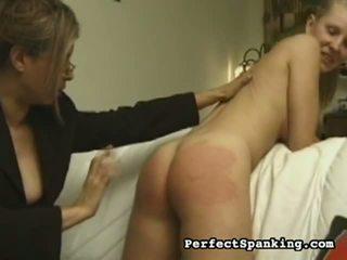 spanking, virgin spankings