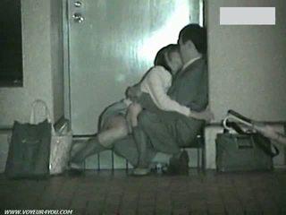 Jap Voyeur spy cam Hidden Camera outdoor Public Sex Couples Reality oriental Amateur