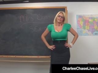 Sekss ed skolotāja charlee chase mute & vāvere fucks studente