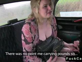 Lubben tattooed blond knullet i taxi video