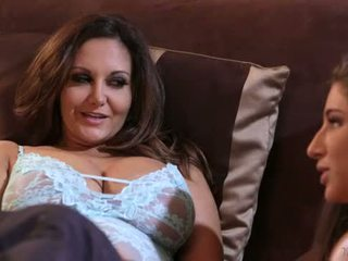 Abella danger and ava addams at mommy's gyz