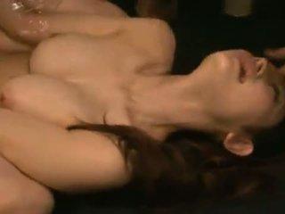 Smut azumi mizushima has të saj gojë dhe shkurre banged brutally