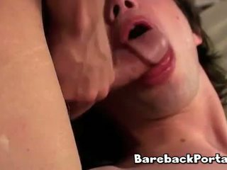 Raw gay sex bareback hunks