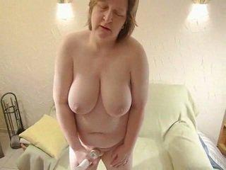 mature fat lady - amateur dildo bbw