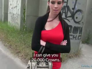 เซ็กซี่ isabelle sucks และ fucks สำหรับ เงินสด