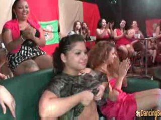 Wow meitenes patiešām luv šī dzimumloceklis! - dejošas lācis orgija