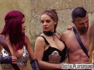 Xxx porno video - punane maiden a dp paroodia koos jessa.