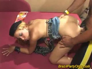Blonde Smaba Dancer Are Banged At Party