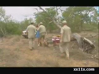 Pic nic dans la faune africaine