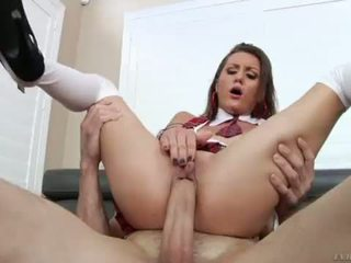 Renee Roulette at Anal Finishing School - LeWood